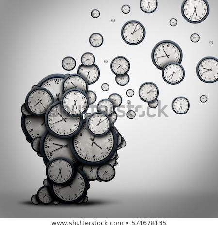 Timing business illustratie Geel Stockfoto © tashatuvango