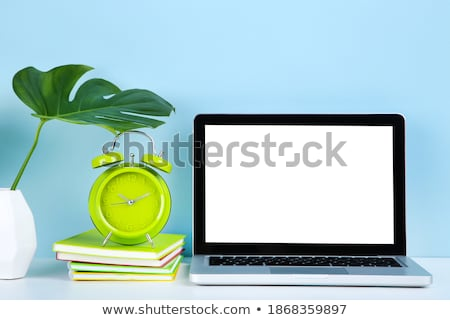 Keyboard with Blue Button - Alarm. Stock photo © tashatuvango