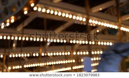 Rotating carrousel by night Stock photo © IS2
