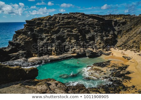 Costa Havaí EUA praia paisagem mar Foto stock © dirkr