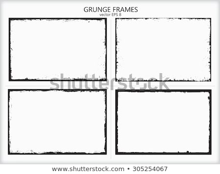Grunge border and background Stock photo © Lizard