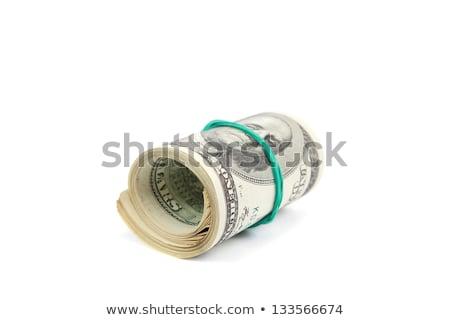 paketlemek · dolar · hediye · yalıtılmış · beyaz · doğum · günü - stok fotoğraf © illustrart