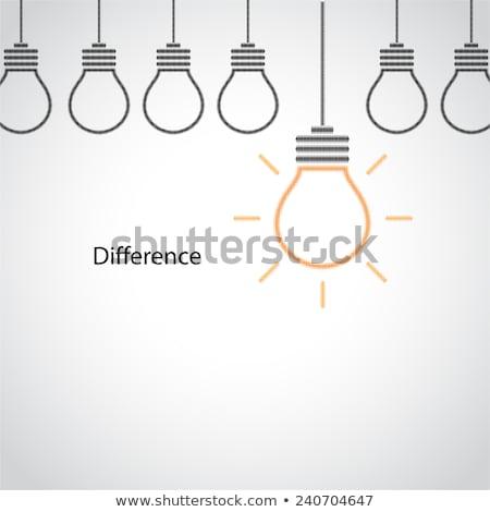 Сток-фото: думать · икона · различный · стиль · вектора · символ