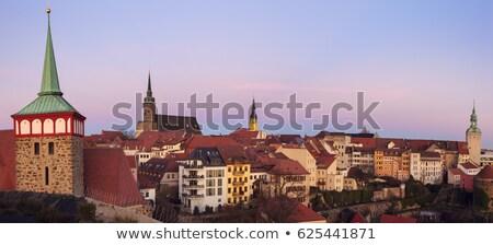 исторический · старый · город · город · архитектура · Европа · аллеи - Сток-фото © benkrut