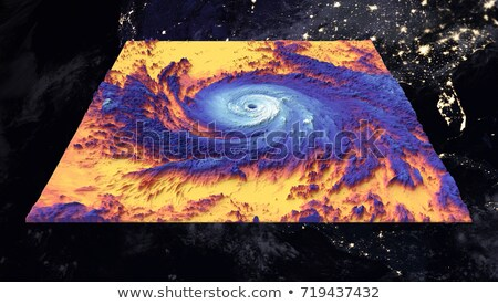 Hurricans Maria and Jose. Elements of this image are furnished by NASA Stock photo © NASA_images
