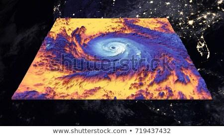 ciclone · pianeta · terra · elementi · immagine · cielo · mare - foto d'archivio © nasa_images
