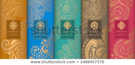 Luxo mandala cartões modelo de design projeto fundo Foto stock © SArts