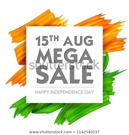 15th august indian independence day sale banner concept design Stock photo © SArts