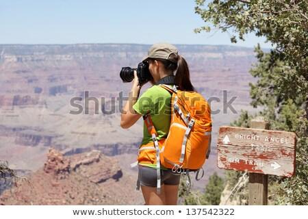 Сток-фото: фотограф · съемки · Гранд-Каньон · красивой · пейзаж · облака