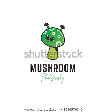 Sign template with cute aliens Stock photo © colematt