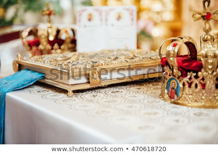 various accessories for the wedding in the church Stock photo © ruslanshramko