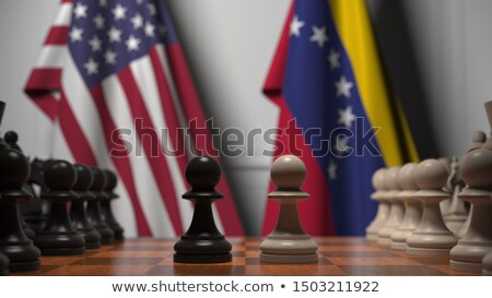 Venezuela United States Conflict Stock photo © Lightsource