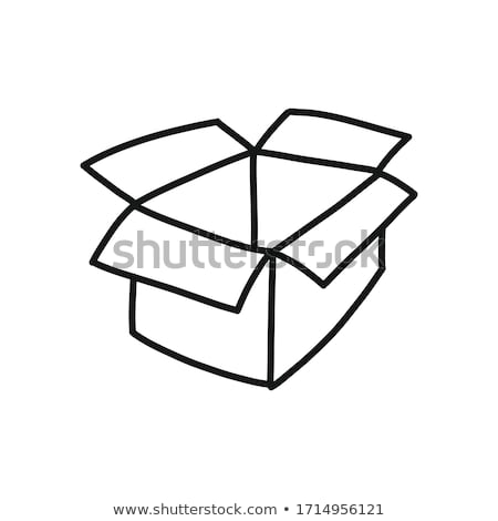 Cargo container ship hand drawn outline doodle icon. Stock photo © RAStudio