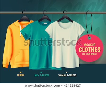 Colorful sports hoodie and T-shirt Stock photo © Lana_M