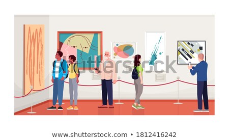 çift · ev · dizayn · stil · renkli · örnek - stok fotoğraf © decorwithme
