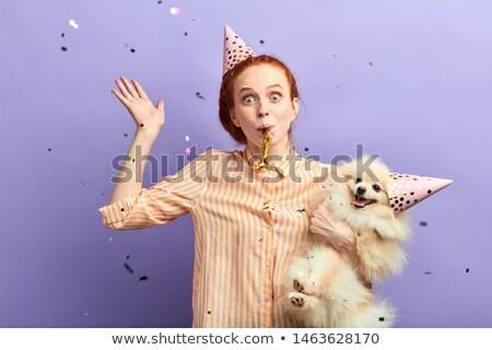 mutlu · arkadaşlar · parti · kutlama · eğlence - stok fotoğraf © dolgachov