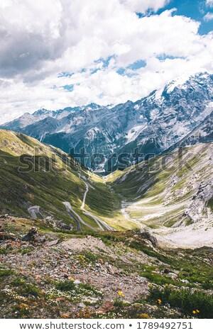 Görmek üst ünlü İtalyan yüksek alpine Stok fotoğraf © michaklootwijk