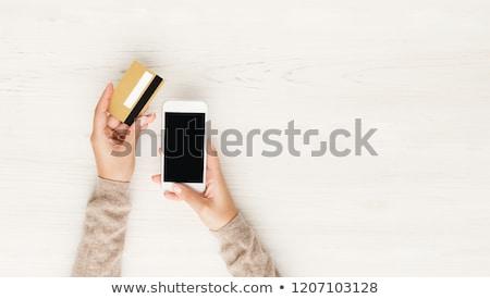 vonzó · üzletasszony · telefon · vektor · iroda · munka - stock fotó © rogistok