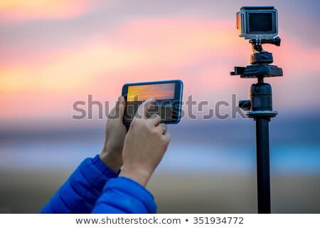 Piccolo difficile sport fotocamera studio Foto d'archivio © jarp17