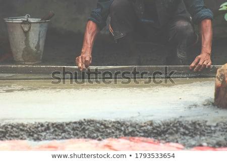 Mason ahşap doku fayans duvar taze Stok fotoğraf © lunamarina
