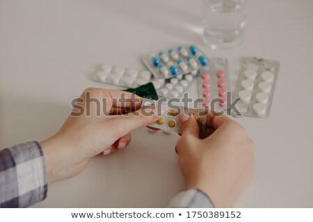 medische · apparatuur · pillen · gezondheid · geneeskunde · wetenschap - stockfoto © andreasberheide