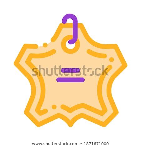 прачечной службе носить Label вектора тонкий Сток-фото © pikepicture