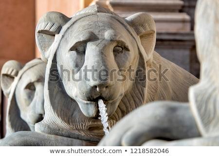 Fontana Roma chiesa acqua arte Foto d'archivio © borisb17