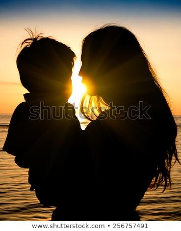 Моменты матери сын нежность любящий Сток-фото © lichtmeister
