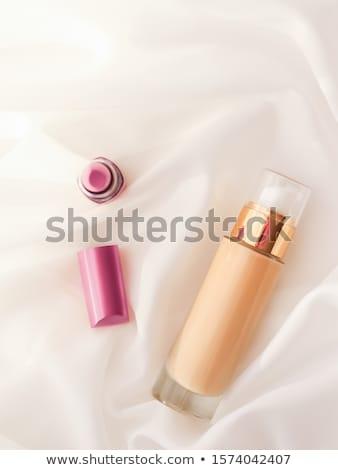 Bege creme garrafa make-up fluido Foto stock © Anneleven