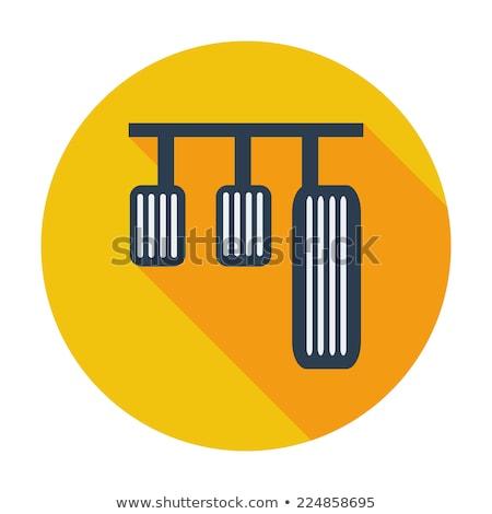 Pedal car single icon. Stock photo © smoki