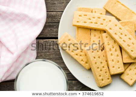 Sweet shortbread fingers Stock photo © grafvision