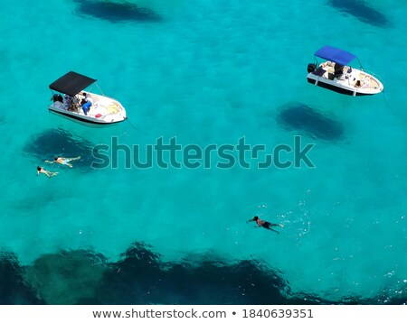 View diving snorkel barche in giro Foto d'archivio © galitskaya