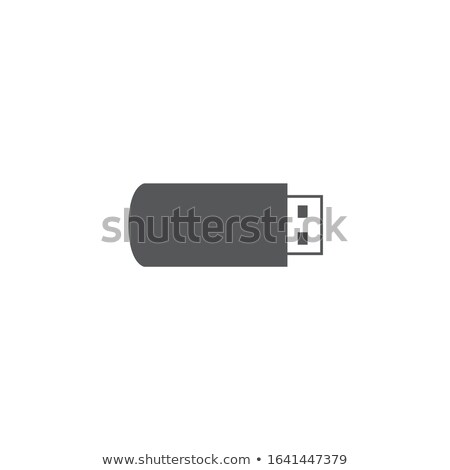 USB flash drive icon. Web site page and mobile app design vector element. Stock Vector illustration  Stock photo © kyryloff