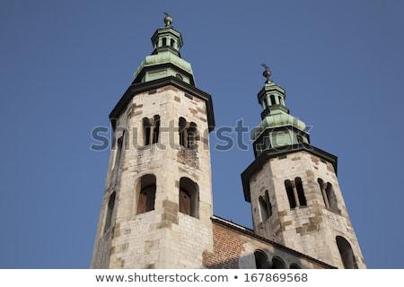 Церкви Краков Польша старый город район исторический Сток-фото © borisb17