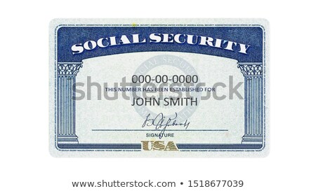 Stock photo: Social Security Card