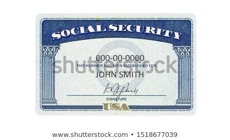 Social Security Card stock photo © 350jb