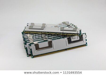 High performance DDR3 ECC computer memory Stock photo © gewoldi