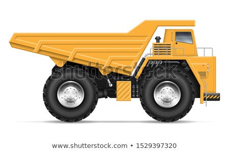 Large Earth Mover Profile Stock photo © pixelsnap