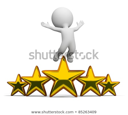 3d small people   superstar stock photo © anatolym