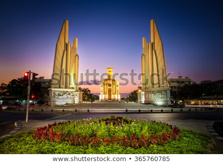 Monument of Democracy in Bangkok Stock photo © johnnychaos