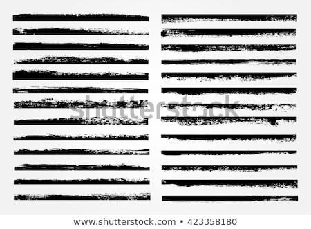 Grunge vetor conjunto individual objetos Foto stock © Lizard