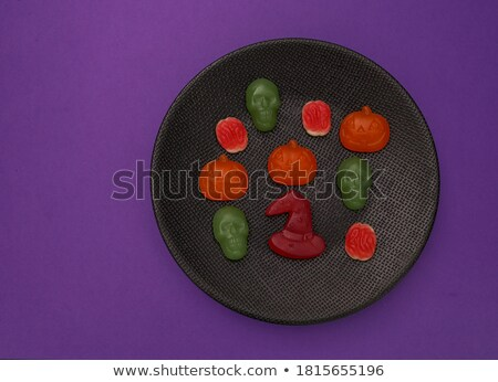 Close-up view of Love-Shaped Jelly Stock photo © azamshah72