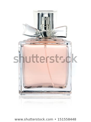 Stock photo: Elegant perfume bottle