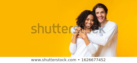 interracial couple embracing stock photo © photography33