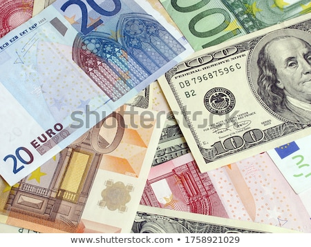 Dollár vs Euro gazdaságos illusztráció világ Stock fotó © ajlber