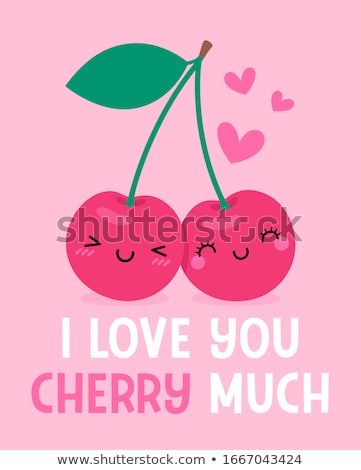 Cherry And A Smile Stock photo © lisafx