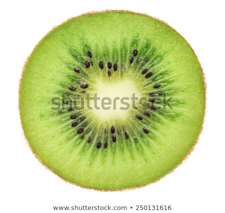 Kiwi plakje groene vruchten exemplaar ruimte Stockfoto © REDPIXEL