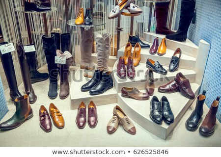 Female footwear display stock photo © zzve