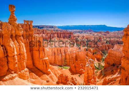 Vermelho arenito desfiladeiro parque Utah Foto stock © jaymudaliar
