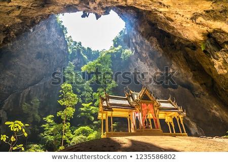 Pavillon in Phraya Nakorn cave Stock photo © Witthaya